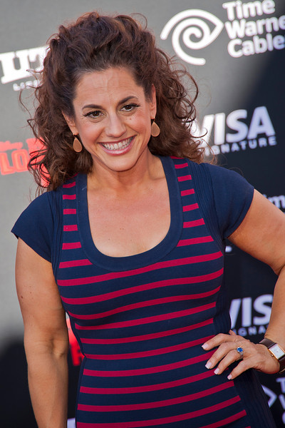 ANAHEIM, CA - JUNE 22: Actress Marissa Jaret Winokur attends the premiere of Walt Disney Pictures' 'The Lone Ranger' at Disney California Adventure Park on Saturday, June 22, 2013 in Anaheim, California. (Photo by Tom Sorensen/Moovieboy Pictures)