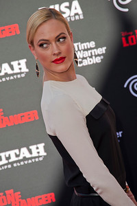 ANAHEIM, CA - JUNE 22: Peta Murgatroyd attends the premiere of Walt Disney Pictures' 'The Lone Ranger' at Disney California Adventure Park on Saturday, June 22, 2013 in Anaheim, California. (Photo by Tom Sorensen/Moovieboy Pictures)