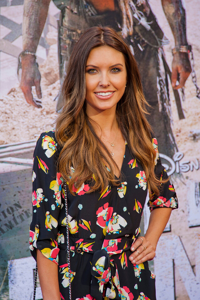 ANAHEIM, CA - JUNE 22: Television personality Audrina Patridge attends the premiere of Walt Disney Pictures' 'The Lone Ranger' at Disney California Adventure Park on Saturday, June 22, 2013 in Anaheim, California. (Photo by Tom Sorensen/Moovieboy Pictures)