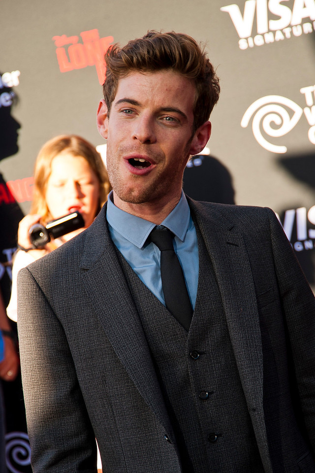 ANAHEIM, CA - JUNE 22: Actor Harry Treadaway attends the premiere of Walt Disney Pictures' 'The Lone Ranger' at Disney California Adventure Park on Saturday, June 22, 2013 in Anaheim, California. (Photo by Tom Sorensen/Moovieboy Pictures)