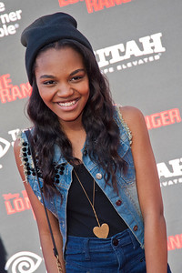 ANAHEIM, CA - JUNE 22: Singer/actress China Anne McClain attends the premiere of Walt Disney Pictures' 'The Lone Ranger' at Disney California Adventure Park on Saturday, June 22, 2013 in Anaheim, California. (Photo by Tom Sorensen/Moovieboy Pictures)