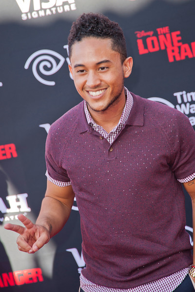 ANAHEIM, CA - JUNE 22: Actor Tahj Mowry attends the premiere of Walt Disney Pictures' 'The Lone Ranger' at Disney California Adventure Park on Saturday, June 22, 2013 in Anaheim, California. (Photo by Tom Sorensen/Moovieboy Pictures)