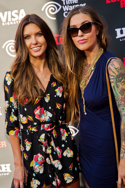 ANAHEIM, CA - JUNE 22: TV personality Audrina Patridge and sister Casey Patridge the premiere of Walt Disney Pictures' 'The Lone Ranger' at Disney California Adventure Park on Saturday, June 22, 2013 in Anaheim, California. (Photo by Tom Sorensen/Moovieboy Pictures)