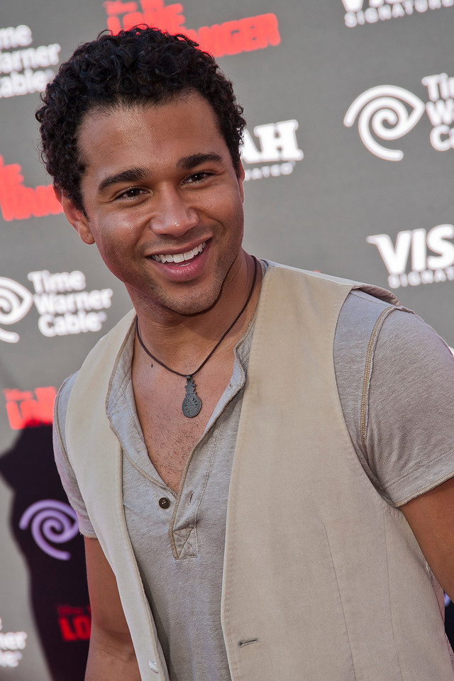 ANAHEIM, CA - JUNE 22: Actor Corbin Bleu attends the premiere of Walt Disney Pictures' 'The Lone Ranger' at Disney California Adventure Park on Saturday, June 22, 2013 in Anaheim, California. (Photo by Tom Sorensen/Moovieboy Pictures)