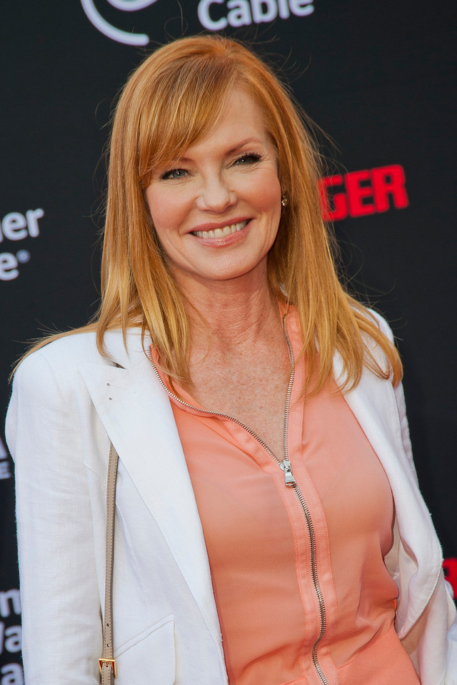 ANAHEIM, CA - JUNE 22: Actress Marg Helgenberger attends the premiere of Walt Disney Pictures' 'The Lone Ranger' at Disney California Adventure Park on Saturday, June 22, 2013 in Anaheim, California. (Photo by Tom Sorensen/Moovieboy Pictures)