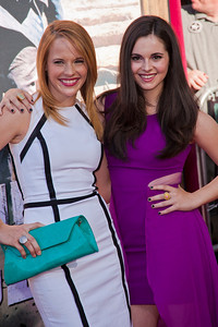 ANAHEIM, CA - JUNE 22: Actresses Katie Leclerc (L) and Vanessa Marano attend the premiere of Walt Disney Pictures' 'The Lone Ranger' at Disney California Adventure Park on Saturday, June 22, 2013 in Anaheim, California. (Photo by Tom Sorensen/Moovieboy Pictures)
