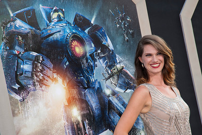 HOLLYWOOD, CA - JULY 09: Actress Heather Doerksen arrives at the premiere of Warner Bros. Pictures' and Legendary Pictures' 'Pacific Rim' at Dolby Theatre on Tuesday, July 9, 2013 in Hollywood, California. (Photo by Tom Sorensen/Moovieboy Pictures)