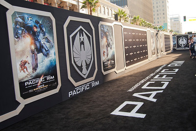 HOLLYWOOD, CA - JULY 09: Atmosphere at the premiere of Warner Bros. Pictures' and Legendary Pictures' 'Pacific Rim' at Dolby Theatre on Tuesday, July 9, 2013 in Hollywood, California. (Photo by Tom Sorensen/Moovieboy Pictures)