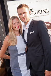 HOLLYWOOD, CA - JULY 15: Actor John Brotherton and Alison Raimondi arrive at the Los Angeles Premiere 'The Conjuring' at ArcLight Cinemas Cinerama Dome on Monday, July 15, 2013 in Hollywood, California. (Photo by Tom Sorensen/Moovieboy Pictures)