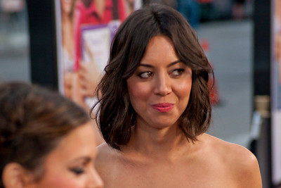 LOS ANGELES, CA - JULY 23: Actress Aubrey Plaza arrives at the CBS Films 'The To Do List' at Regency Bruin Theatre on Tuesday, July 23, 2013 in Los Angeles, California. (Photo by Tom Sorensen/Moovieboy Pictures)