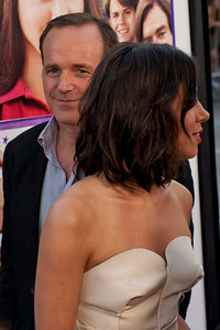 LOS ANGELES, CA - JULY 23: Actors Aubrey Plaza and Clark Gregg arrive at the CBS Films 'The To Do List' at Regency Bruin Theatre on Tuesday, July 23, 2013 in Los Angeles, California. (Photo by Tom Sorensen/Moovieboy Pictures)