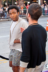 LOS ANGELES, CA - JULY 23: Actor Donald Glover arrives at the CBS Films 'The To Do List' at Regency Bruin Theatre on Tuesday, July 23, 2013 in Los Angeles, California. (Photo by Tom Sorensen/Moovieboy Pictures)