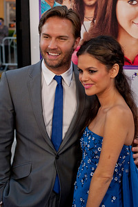 LOS ANGELES, CA - JULY 23: Actors Scott Porter (L) and Rachel Bilson arrive at the CBS Films 'The To Do List' at Regency Bruin Theatre on Tuesday, July 23, 2013 in Los Angeles, California. (Photo by Tom Sorensen/Moovieboy Pictures)