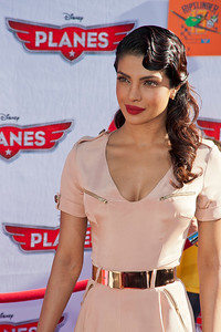 HOLLYWOOD, CA - AUGUST 05: Actress Priyanka Chopra arrives at the Los Angeles premiere of 'Planes' at the El Capitan Theatre on Monday August 5, 2013 in Hollywood, California. (Photo by Tom Sorensen/Moovieboy Pictures)