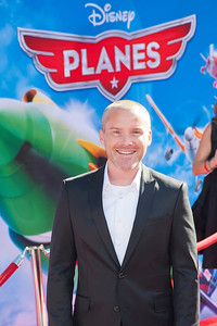 HOLLYWOOD, CA - AUGUST 05: Actor Roger Craig Smith arrives at the Los Angeles premiere of 'Planes' at the El Capitan Theatre on Monday August 5, 2013 in Hollywood, California. (Photo by Tom Sorensen/Moovieboy Pictures)