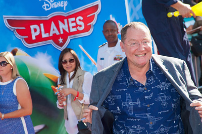 HOLLYWOOD, CA - AUGUST 05: Executive Producer John Lasseter arrives at the Los Angeles premiere of 'Planes' at the El Capitan Theatre on Monday August 5, 2013 in Hollywood, California. (Photo by Tom Sorensen/Moovieboy Pictures)