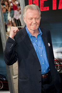 WESTWOOD, CA - AUGUST 26: Actor Jon Voight attends the premiere of 'Getaway' presented by Warner Bros. Pictures at Regency Village Theatre on Monday, August 26, 2013 in Westwood, California. (Photo by Tom Sorensen/Moovieboy Pictures)