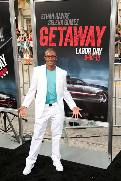 WESTWOOD, CA - AUGUST 26: Actor/comedian Tommy Davidson attends the premiere of 'Getaway' presented by Warner Bros. Pictures at Regency Village Theatre on Monday, August 26, 2013 in Westwood, California. (Photo by Tom Sorensen/Moovieboy Pictures)