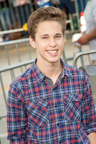 WESTWOOD, CA - AUGUST 26: Actor Ryan Beatty attends the premiere of 'Getaway' presented by Warner Bros. Pictures at Regency Village Theatre on Monday, August 26, 2013 in Westwood, California. (Photo by Tom Sorensen/Moovieboy Pictures)