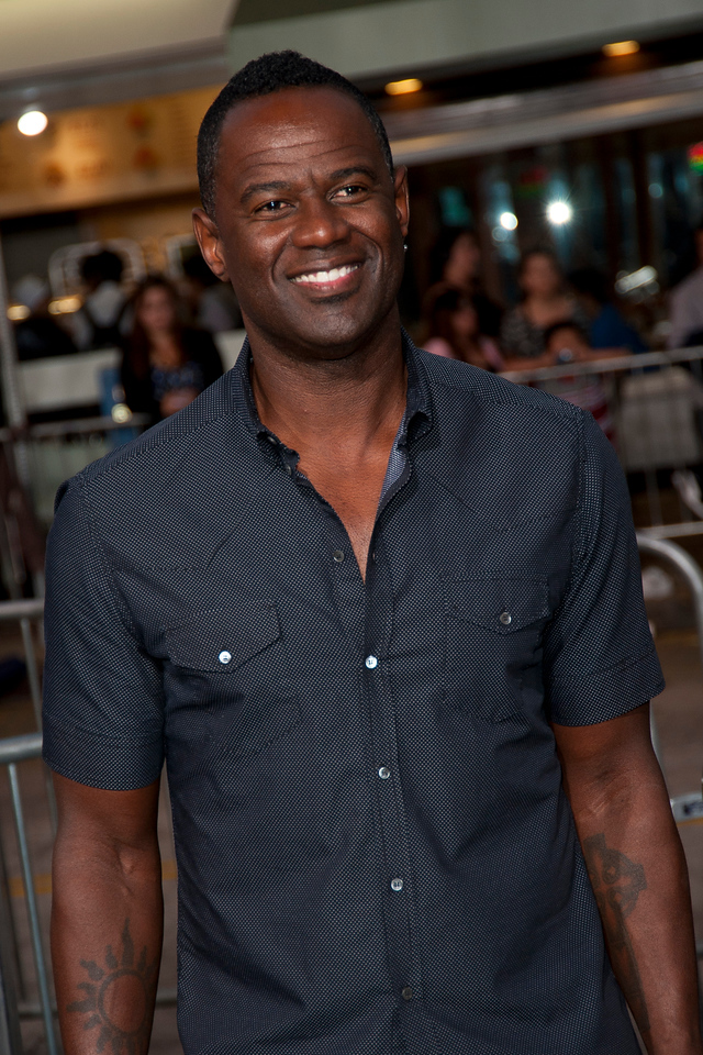 WESTWOOD, CA - AUGUST 26: Recording artist Brian McKnight attends the premiere of 'Getaway' presented by Warner Bros. Pictures at Regency Village Theatre on Monday, August 26, 2013 in Westwood, California. (Photo by Tom Sorensen/Moovieboy Pictures)