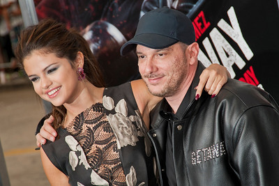 WESTWOOD, CA - AUGUST 26: Actress/singer Selena Gomez and director Courtney Solomon attend the premiere of 'Getaway' presented by Warner Bros. Pictures at Regency Village Theatre on Monday, August 26, 2013 in Westwood, California. (Photo by Tom Sorensen/Moovieboy Pictures)