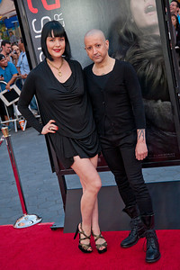 UNIVERSAL CITY, CA - SEPTEMBER 10: Composer Joseph Bishara (R) and guest attend the premiere of FilmDistrict's 'Insidious: Chapter 2' at Universal CityWalk on Tuesday, September 10, 2013 in Universal City, California. (Photo by Tom Sorensen/Moovieboy Pictures)