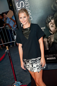 UNIVERSAL CITY, CA - SEPTEMBER 10: Actress Claire Holt attends the premiere of FilmDistrict's 'Insidious: Chapter 2' at Universal CityWalk on Tuesday, September 10, 2013 in Universal City, California. (Photo by Tom Sorensen/Moovieboy Pictures)