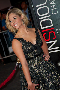 UNIVERSAL CITY, CA - SEPTEMBER 10: Actress Sasha Pieterse attends the premiere of FilmDistrict's 'Insidious: Chapter 2' at Universal CityWalk on Tuesday, September 10, 2013 in Universal City, California. (Photo by Tom Sorensen/Moovieboy Pictures)