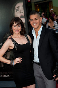 UNIVERSAL CITY, CA - SEPTEMBER 10: Actress Danielle Bisutti (L) and guest attend the premiere of FilmDistrict's 'Insidious: Chapter 2' at Universal CityWalk on Tuesday, September 10, 2013 in Universal City, California. (Photo by Tom Sorensen/Moovieboy Pictures)
