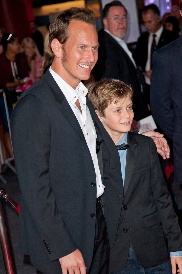 UNIVERSAL CITY, CA - SEPTEMBER 10: Actors Patrick Wilson and Ty Simpkins attend the premiere of FilmDistrict's 'Insidious: Chapter 2' at Universal CityWalk on Tuesday, September 10, 2013 in Universal City, California. (Photo by Tom Sorensen/Moovieboy Pictures)