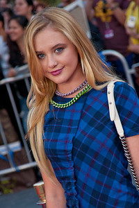 UNIVERSAL CITY, CA - SEPTEMBER 10: Actress Kathryn Newton attends the premiere of FilmDistrict's 'Insidious: Chapter 2' at Universal CityWalk on Tuesday, September 10, 2013 in Universal City, California. (Photo by Tom Sorensen/Moovieboy Pictures)