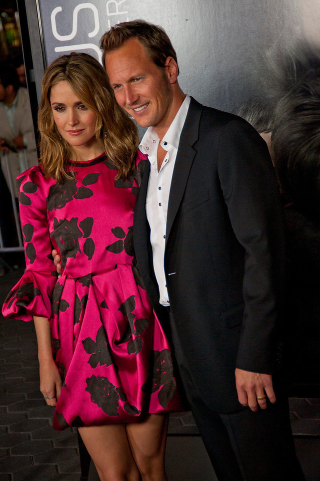 UNIVERSAL CITY, CA - SEPTEMBER 10: Actors Rose Byrne (L) and Patrick Wilson attend the premiere of FilmDistrict's 'Insidious: Chapter 2' at Universal CityWalk on Tuesday, September 10, 2013 in Universal City, California. (Photo by Tom Sorensen/Moovieboy Pictures)