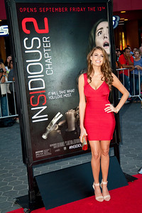 UNIVERSAL CITY, CA - SEPTEMBER 10: Actress Brooke Peoples attends the premiere of FilmDistrict's 'Insidious: Chapter 2' at Universal CityWalk on Tuesday, September 10, 2013 in Universal City, California. (Photo by Tom Sorensen/Moovieboy Pictures)