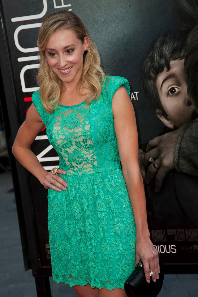 UNIVERSAL CITY, CA - SEPTEMBER 10: Actress Lindsay Seim attends the premiere of FilmDistrict's 'Insidious: Chapter 2' at Universal CityWalk on Tuesday, September 10, 2013 in Universal City, California. (Photo by Tom Sorensen/Moovieboy Pictures)