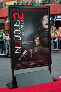UNIVERSAL CITY, CA - SEPTEMBER 10: Atmosphere at the premiere of FilmDistrict's 'Insidious: Chapter 2' at Universal CityWalk on Tuesday, September 10, 2013 in Universal City, California. (Photo by Tom Sorensen/Moovieboy Pictures)