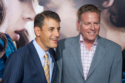 HOLLYWOOD, CA - SEPTEMBER 24: Producers Andy Spaulding and Doug Mankoff arrive at the premiere of Relativity Media's 'Romeo & Juliet' at ArcLight Hollywood on Tuesday, September 24, 2013 in Hollywood, California. (Photo by Tom Sorensen/Moovieboy Pictures)