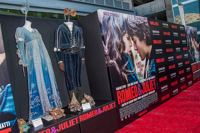 HOLLYWOOD, CA - SEPTEMBER 24: Atmosphere at the premiere of Relativity Media's 'Romeo & Juliet' at ArcLight Hollywood on Tuesday, September 24, 2013 in Hollywood, California. (Photo by Tom Sorensen/Moovieboy Pictures)