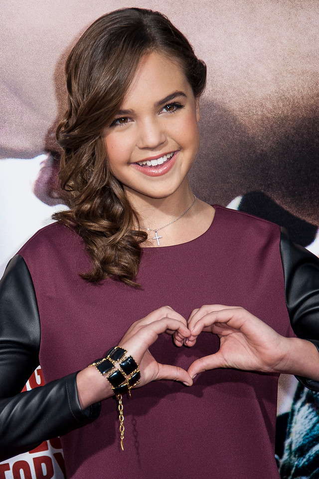 HOLLYWOOD, CA - SEPTEMBER 24: Actress Bailee Madison arrives at the premiere of Relativity Media's 'Romeo & Juliet' at ArcLight Hollywood on Tuesday, September 24, 2013 in Hollywood, California. (Photo by Tom Sorensen/Moovieboy Pictures)