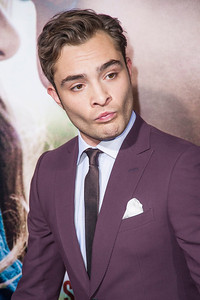 HOLLYWOOD, CA - SEPTEMBER 24: Actor Ed Westwick arrives at the premiere of Relativity Media's 'Romeo & Juliet' at ArcLight Hollywood on Tuesday, September 24, 2013 in Hollywood, California. (Photo by Tom Sorensen/Moovieboy Pictures)