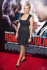 HOLLYWOOD, CA - SEPTEMBER 24: Producer Nadja Swarovski arrives at the premiere of Relativity Media's 'Romeo & Juliet' at ArcLight Hollywood on Tuesday, September 24, 2013 in Hollywood, California. (Photo by Tom Sorensen/Moovieboy Pictures)