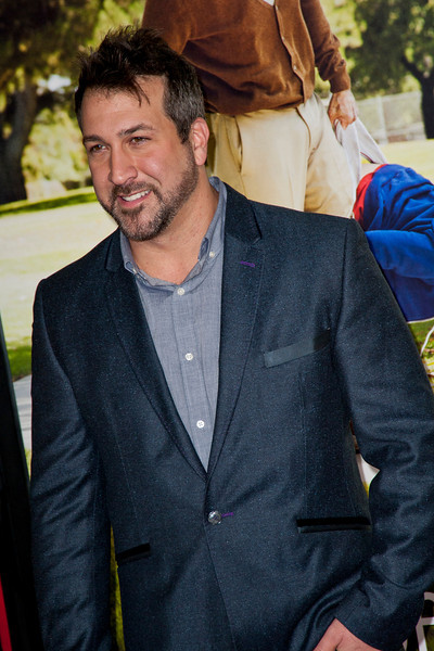 HOLLYWOOD, CA - OCTOBER 23: Actor Joey Fatone attends the premiere of Paramount Pictures' 'Jackass Presents: Bad Grandpa' at the TCL Chinese Theatre on Wednesday, October 23, 2013 in Hollywood, California. (Photo by Tom Sorensen/Moovieboy Pictures)