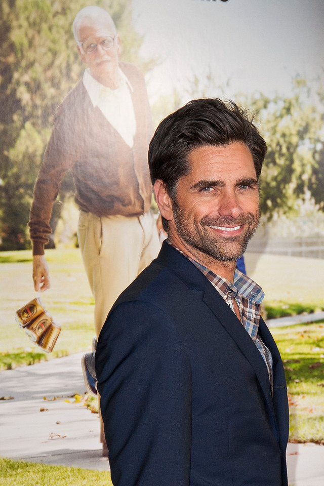 HOLLYWOOD, CA - OCTOBER 23: Actor John Stamos attends the premiere of Paramount Pictures' 'Jackass Presents: Bad Grandpa' at the TCL Chinese Theatre on Wednesday, October 23, 2013 in Hollywood, California. (Photo by Tom Sorensen/Moovieboy Pictures)