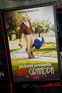 HOLLYWOOD, CA - OCTOBER 23: Atmosphere at the premiere of Paramount Pictures' 'Jackass Presents: Bad Grandpa' at the TCL Chinese Theatre on Wednesday, October 23, 2013 in Hollywood, California. (Photo by Tom Sorensen/Moovieboy Pictures)