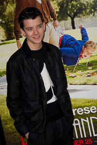 HOLLYWOOD, CA - OCTOBER 23: Actor Asa Butterfield attends the premiere of Paramount Pictures' 'Jackass Presents: Bad Grandpa' at the TCL Chinese Theatre on Wednesday, October 23, 2013 in Hollywood, California. (Photo by Tom Sorensen/Moovieboy Pictures)