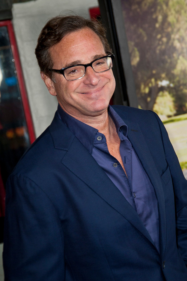 HOLLYWOOD, CA - OCTOBER 23: Actor Bob Saget attends the premiere of Paramount Pictures' 'Jackass Presents: Bad Grandpa' at the TCL Chinese Theatre on Wednesday, October 23, 2013 in Hollywood, California. (Photo by Tom Sorensen/Moovieboy Pictures)