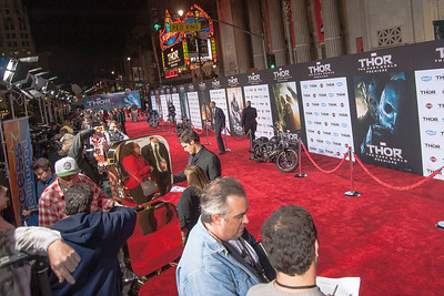 HOLLYWOOD, CA - NOVEMBER 04: Atmosphere at the premiere of Marvel's 'Thor: The Dark World' at the El Capitan Theatre on Monday, November 4, 2013 in Hollywood, California. (Photo by Tom Sorensen/Moovieboy Pictures)