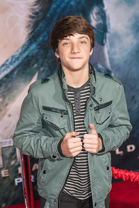 HOLLYWOOD, CA - NOVEMBER 04: Actor Jake Short arrives at the premiere of Marvel's 'Thor: The Dark World' at the El Capitan Theatre on Monday, November 4, 2013 in Hollywood, California. (Photo by Tom Sorensen/Moovieboy Pictures)