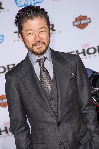 HOLLYWOOD, CA - NOVEMBER 04: Actor Tadanobu Asano arrives at the premiere of Marvel's 'Thor: The Dark World' at the El Capitan Theatre on Monday, November 4, 2013 in Hollywood, California. (Photo by Tom Sorensen/Moovieboy Pictures)