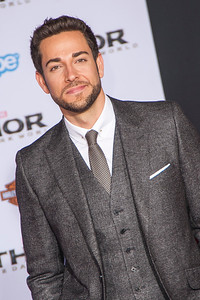 HOLLYWOOD, CA - NOVEMBER 04: Actor Zachary Levi arrives at the premiere of Marvel's 'Thor: The Dark World' at the El Capitan Theatre on Monday, November 4, 2013 in Hollywood, California. (Photo by Tom Sorensen/Moovieboy Pictures)