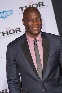 HOLLYWOOD, CA - NOVEMBER 04: Actor Adewale Akinnuoye-Agbaje arrives at the premiere of Marvel's 'Thor: The Dark World' at the El Capitan Theatre on Monday, November 4, 2013 in Hollywood, California. (Photo by Tom Sorensen/Moovieboy Pictures)